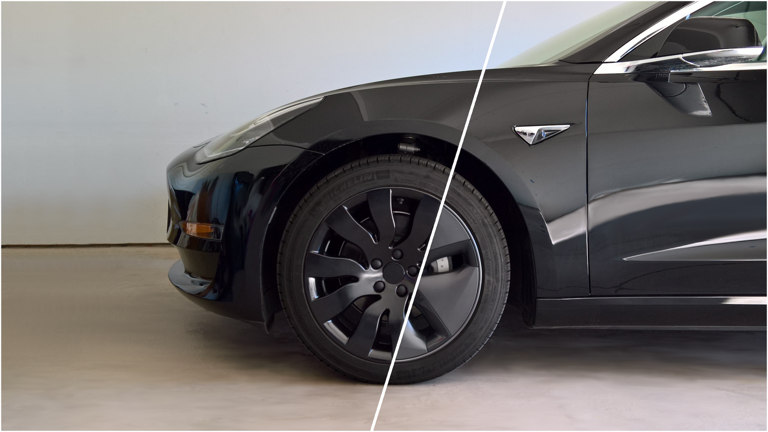 "Efficient 18"" Wheel Covers for Tesla Model 3"