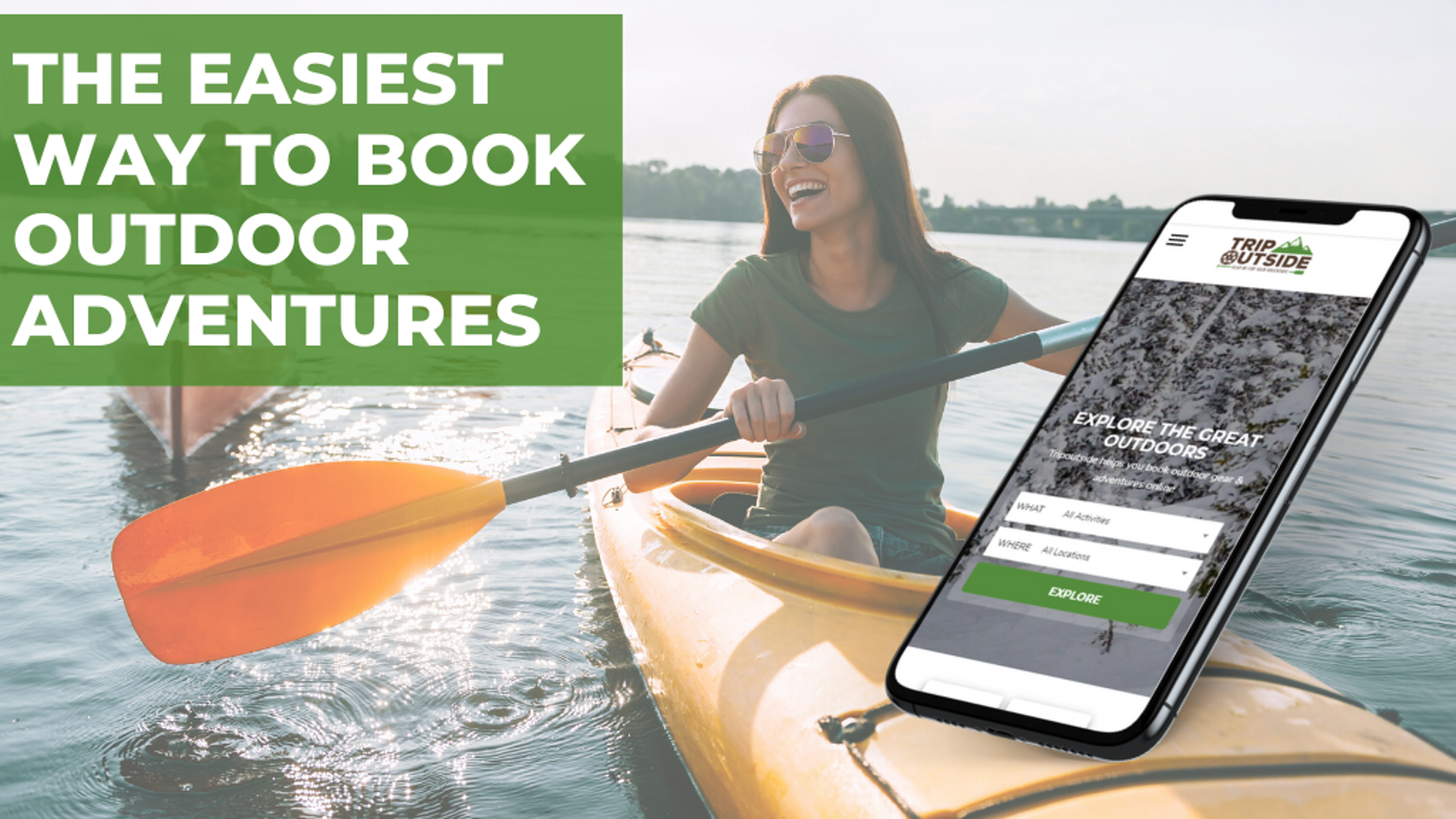 Research top outdoor destinations, find the best local outfitters and experiences, and book it all online.