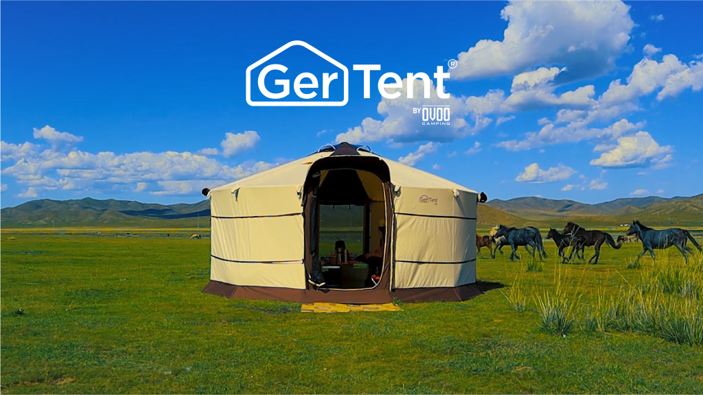 The GerTent's design bases itself on one of the oldest alternative nomadic homes from Asia… the Yurt