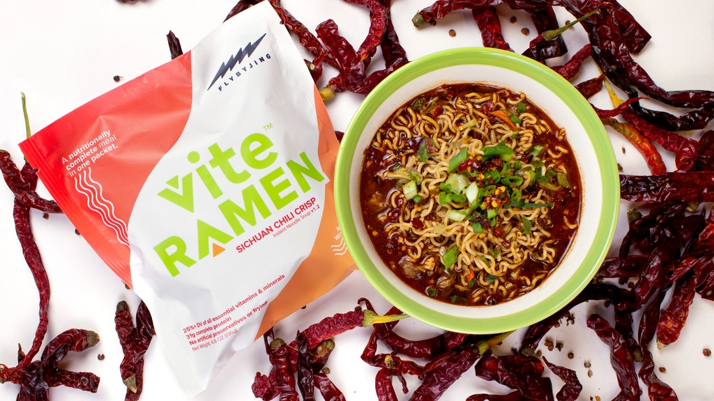Vite Ramen x Fly By Jing: A Complete Spicy Meal In 3 Minutes project video thumbnail