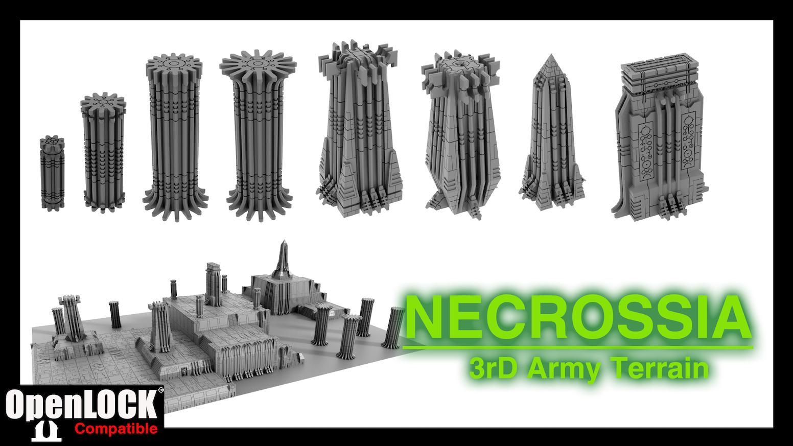 3rd Army Terrain Necrossia 3d Printable Terrain By Protokraken Kickstarter