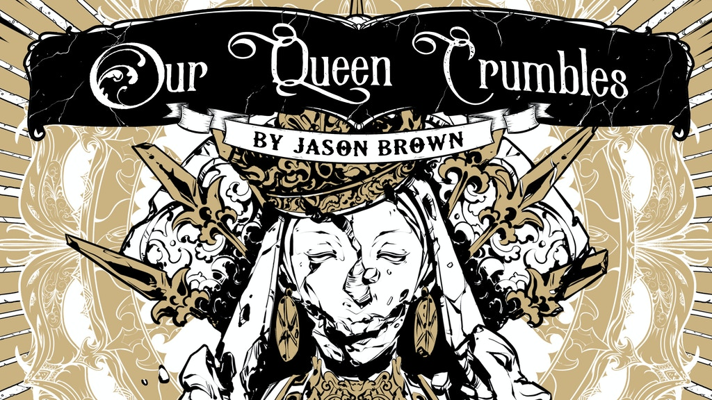 Project image for Our Queen Crumbles: a Weird-Fantasy RPG