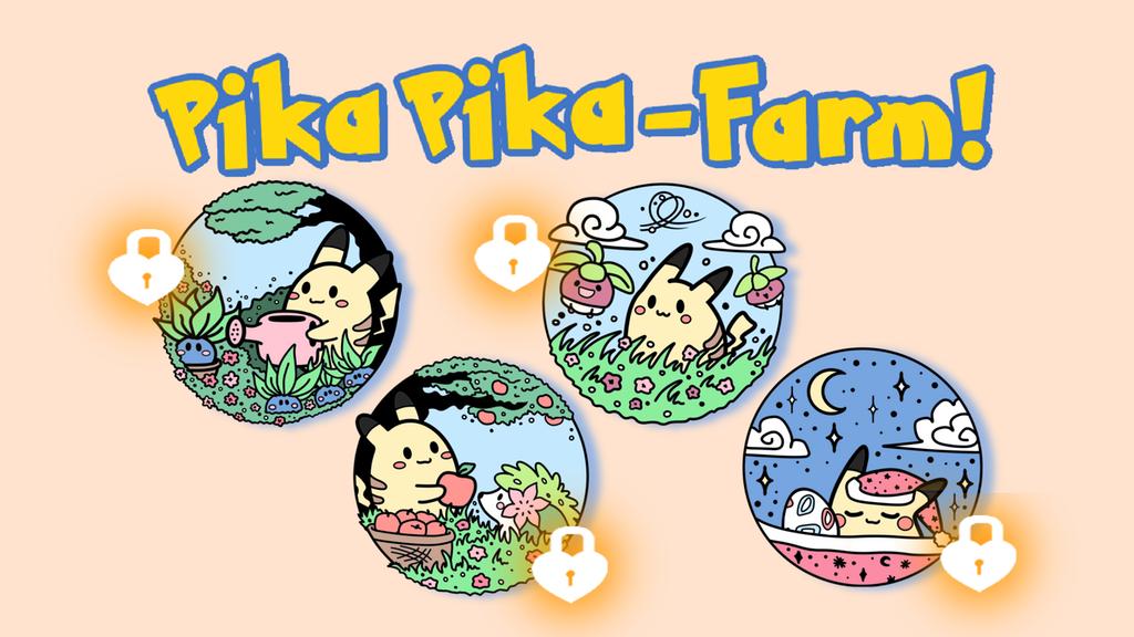 Project image for Cute Pokémon hard enamel Pin Set