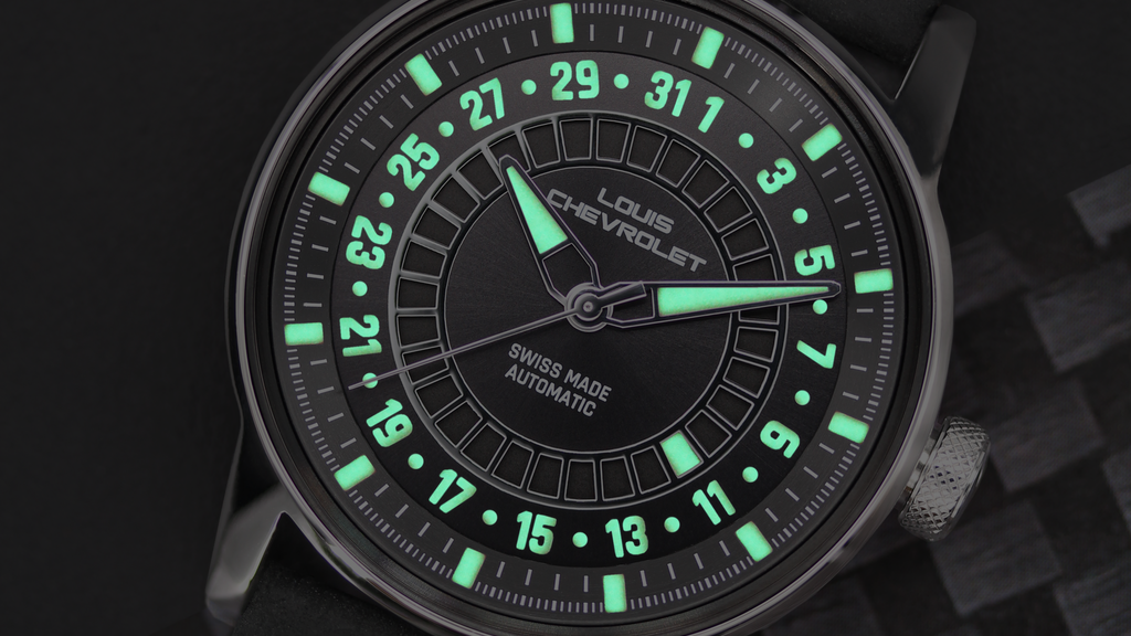 From darkness to light: the flying luminescent date watch project video thumbnail