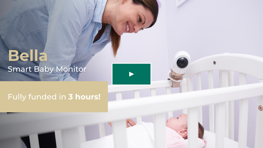 Bella: Your All-In-One Smart Baby Monitor project video thumbnail