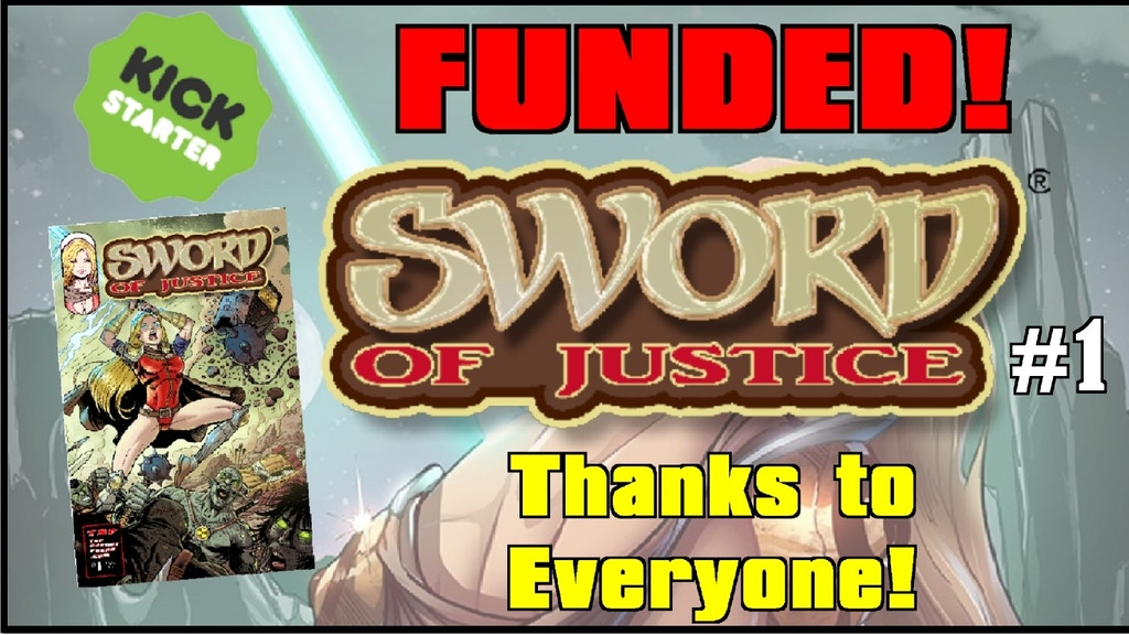 Sword of Justice #1 by Silvio Spotti / Top Secret Press project video thumbnail