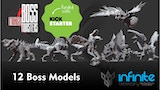 Boss Mixed Monsters 3d Printable War-Games. thumbnail