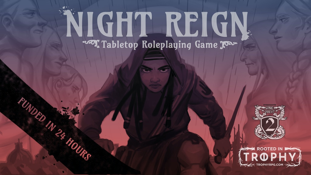 Night Reign RPG #ZineQuest2 project video thumbnail