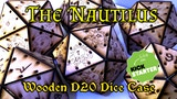 """The Nautilus"" Wood D20 Dice Case thumbnail"