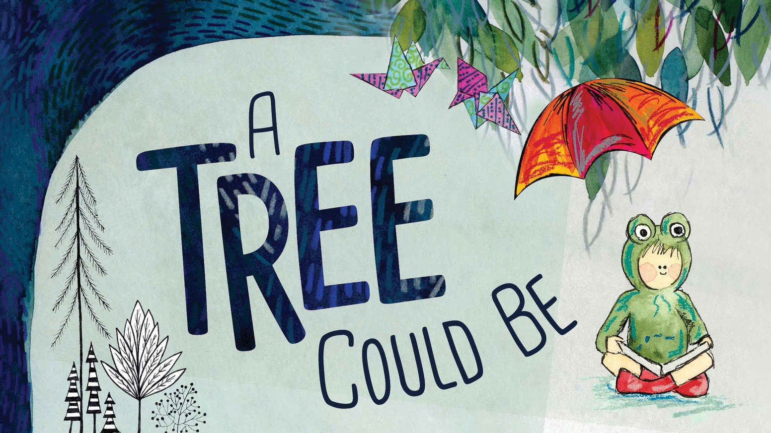 An illustrated children's book about discovering the true nature of trees.