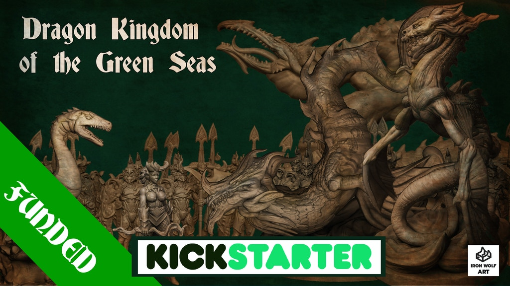 Project image for Dragon Kingdom of the Green Seas