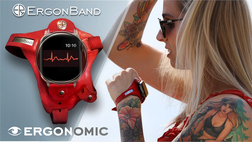 ErgonBand™,the best ERGONOMIC watch band,Handmade strap project video thumbnail