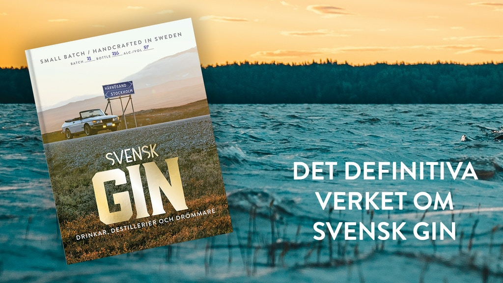 BOKEN OM SVENSK GIN / THE BOOK ON SWEDISH GIN project video thumbnail