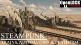 Steampunk: trains, automatons and platform thumbnail