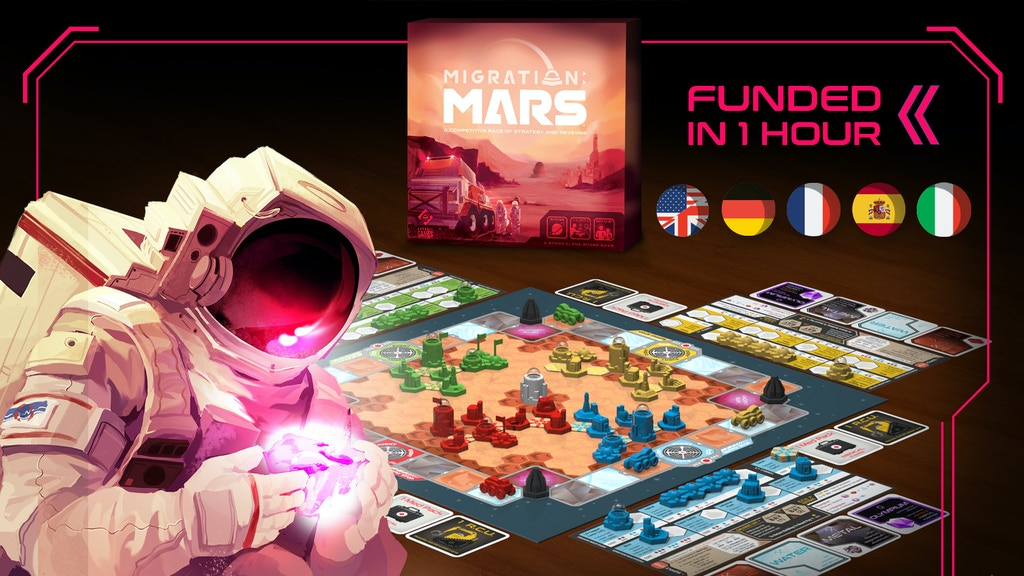 Migration Mars | Race to Build the First Human City on Mars project video thumbnail
