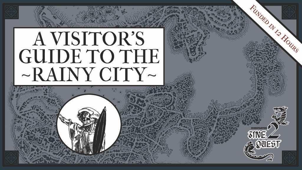 Project image for A Visitor's Guide to the Rainy City