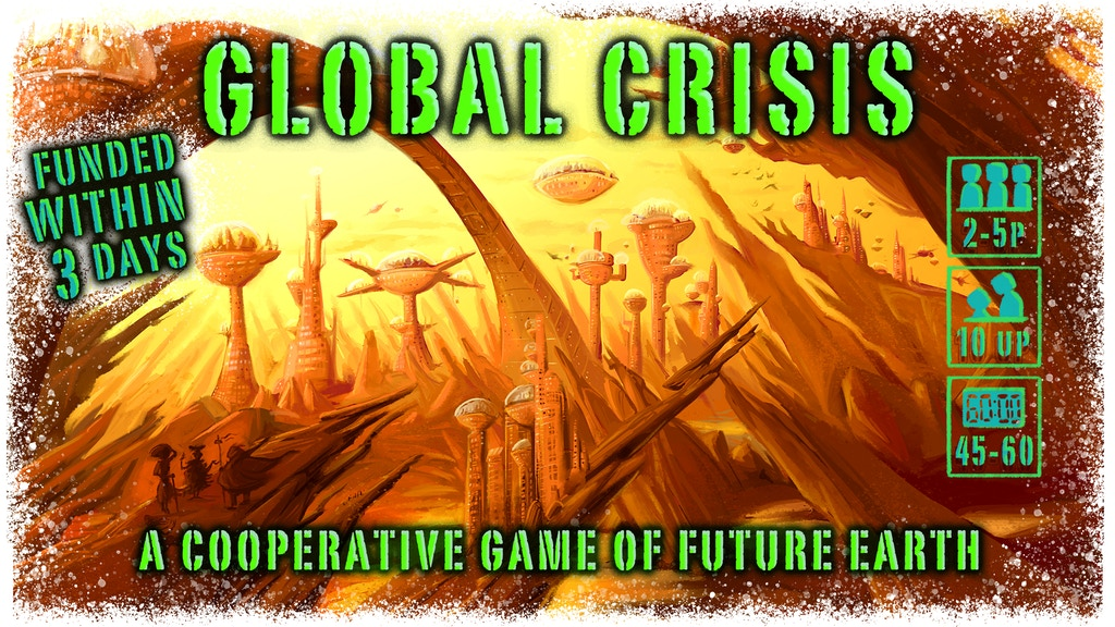 Global Crisis: The Game of Future Earth project video thumbnail