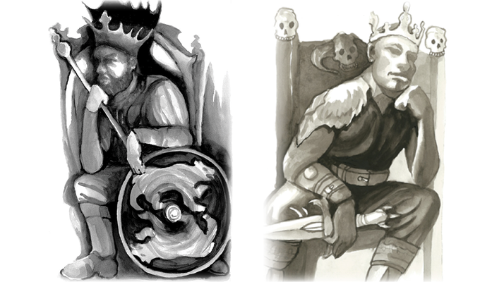 King Aedan and King Ungus
