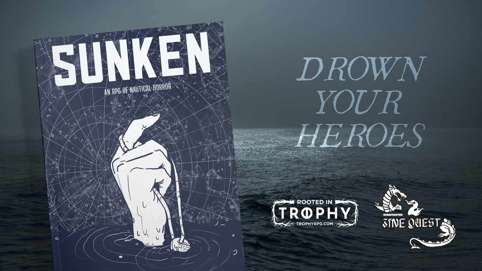 An RPG of nautical horror, rooted in Trophy.