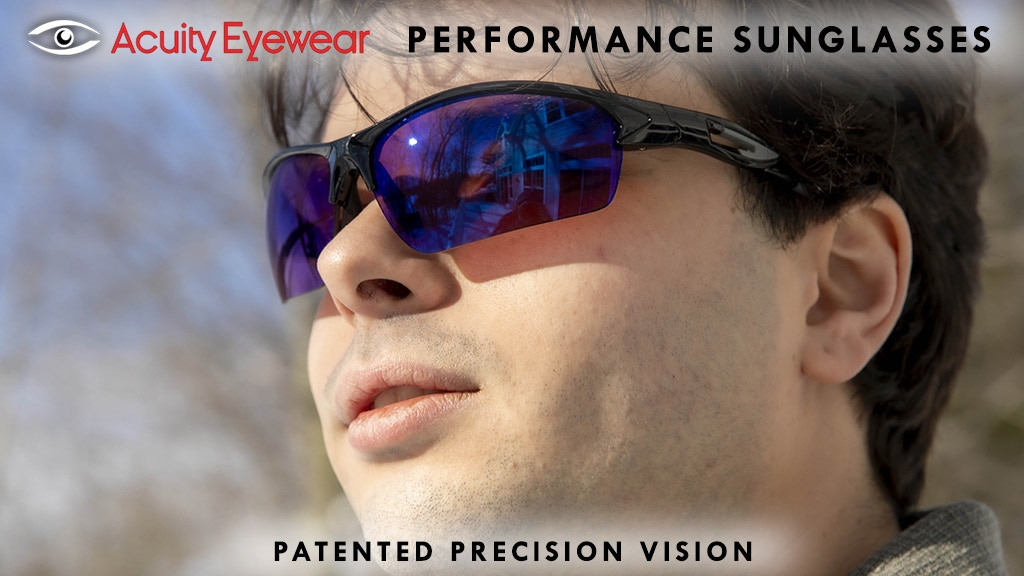 ACUITY Performance Sunglasses - Patented Precision Vision project video thumbnail
