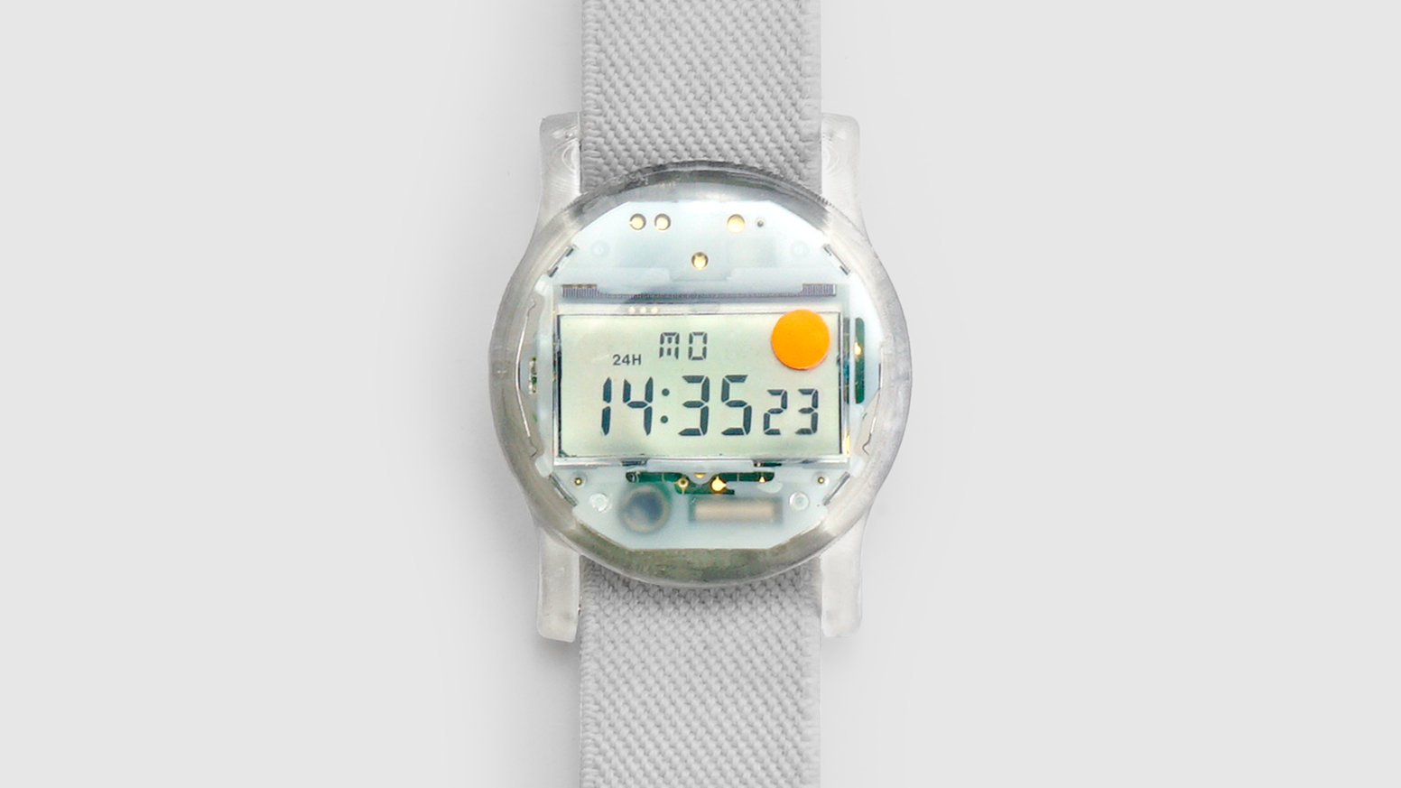A watch, but also an art project inviting us to think about consent within the context of electronic obsolescence and decay.