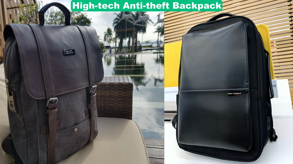 The Customized & Anti-theft Backpack for travel,business