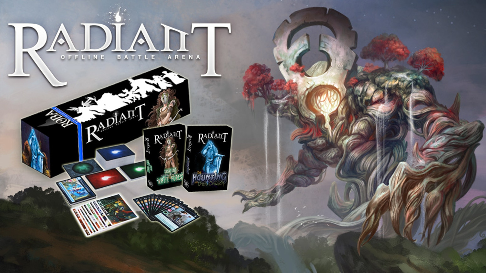 Radiant: Offline Battle Arena, the MOBA-inspired strategy card game, returns with two expansions and a complete collected edition.