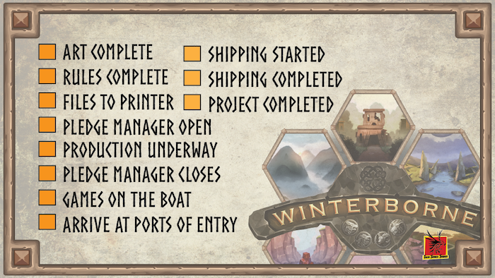 Winterborne is a unique Euro board game for 1-4 players with a fresh take on Deckbuilding and Kingdom Expansion.