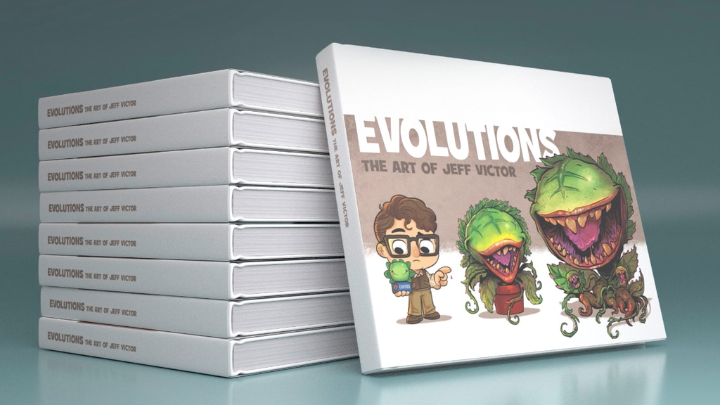 Evolutions: the Art of Jeff Victor project video thumbnail