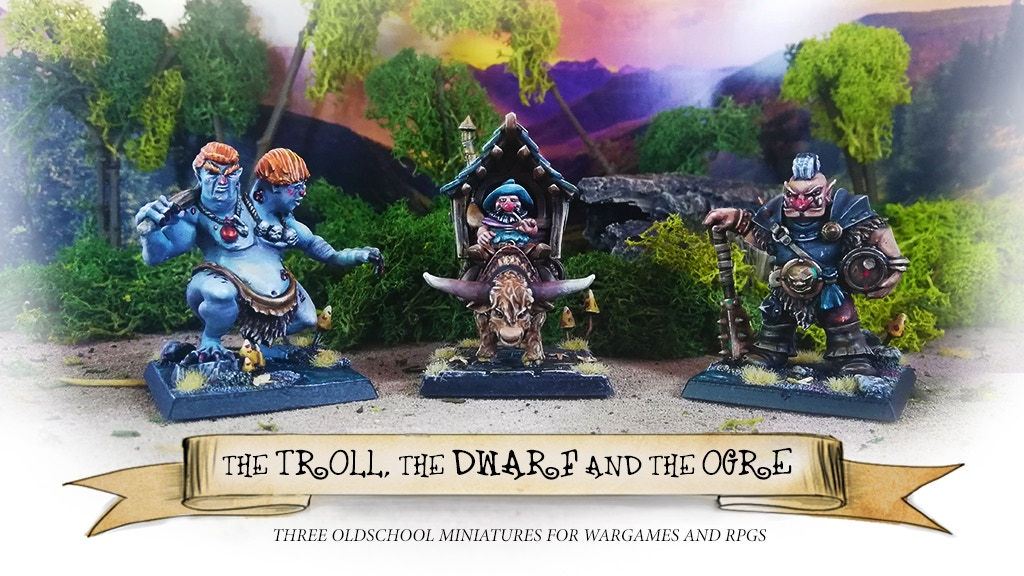 Imagen del proyecto para The Troll, the Dwarf and the Ogre