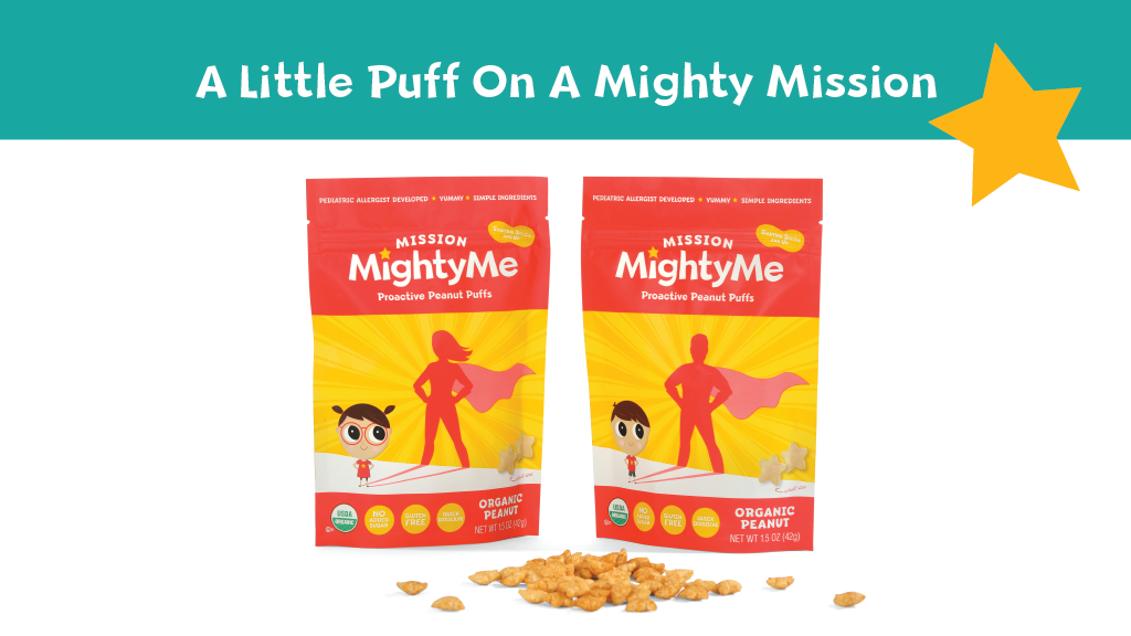 Mission MightyMe Proactive Peanut Puffs project video thumbnail