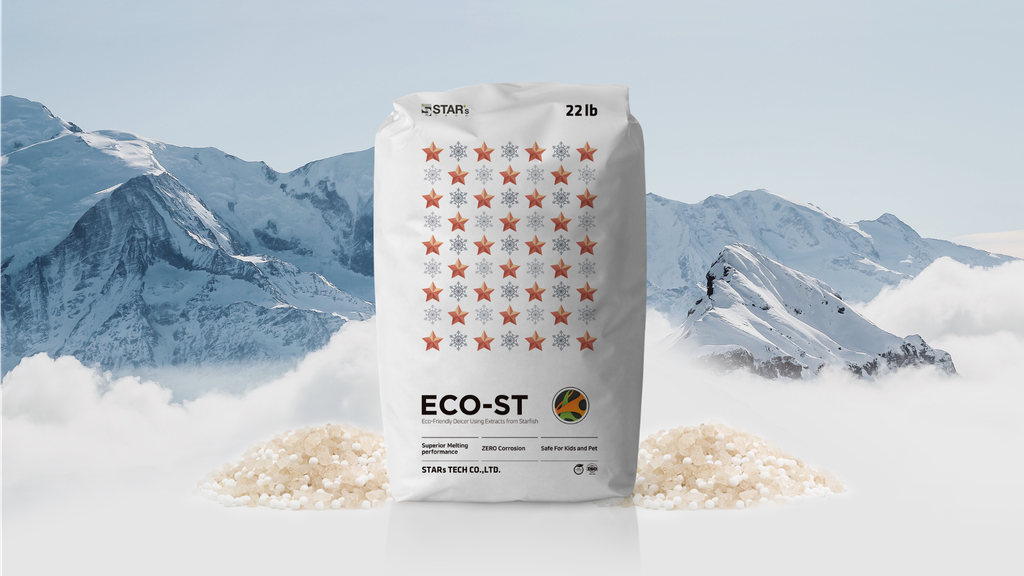 ECO-ST : STARFISH DE-ICER (snow melting agent) project video thumbnail