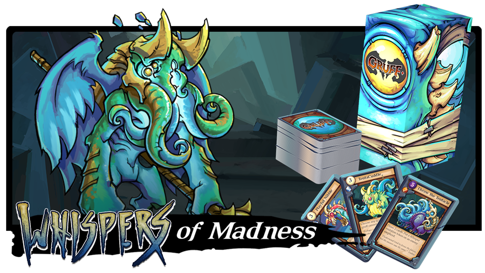 The tactical combat card game of insanely awesome eldritch monster goats.