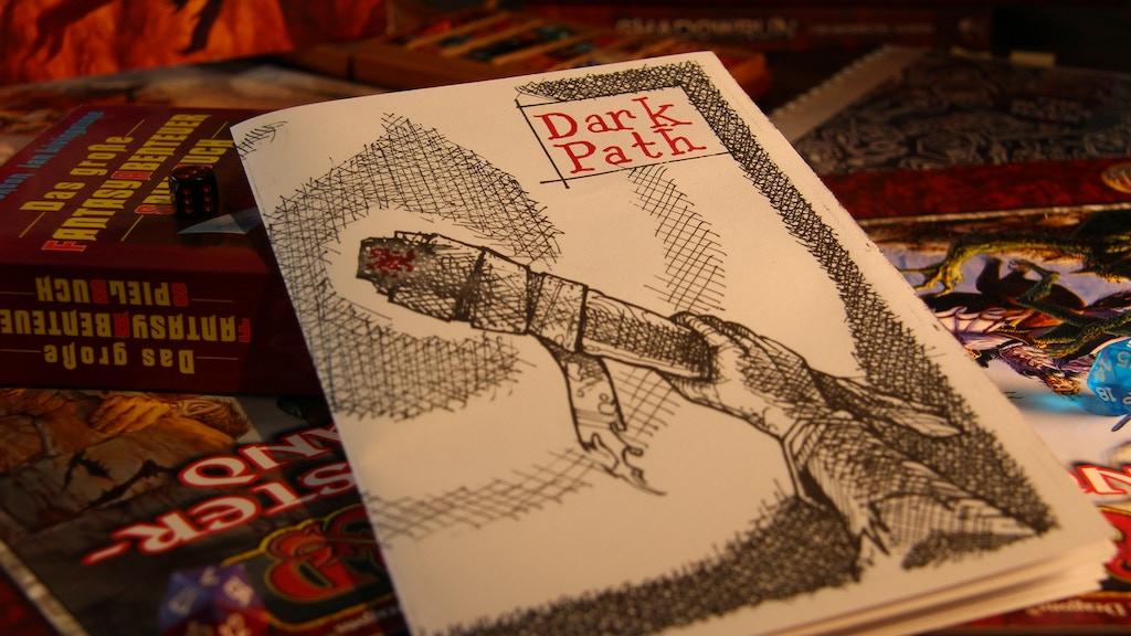 Dark Path: A weird interactive fiction zine