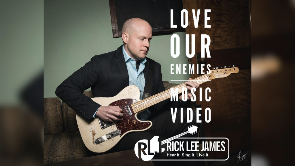 Music Video - Love Our Enemies by Rick Lee James project video thumbnail