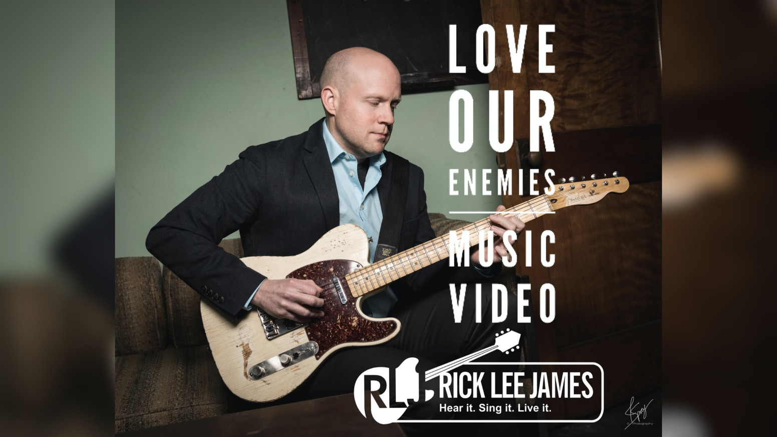 LOVE OUR ENEMIES Music Video from Rick Lee James album THUNDER.