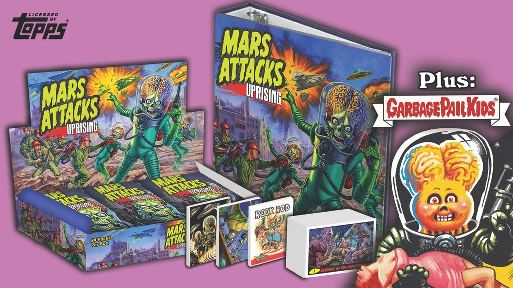 Mars Attacks: Uprising Trading Cards project video thumbnail