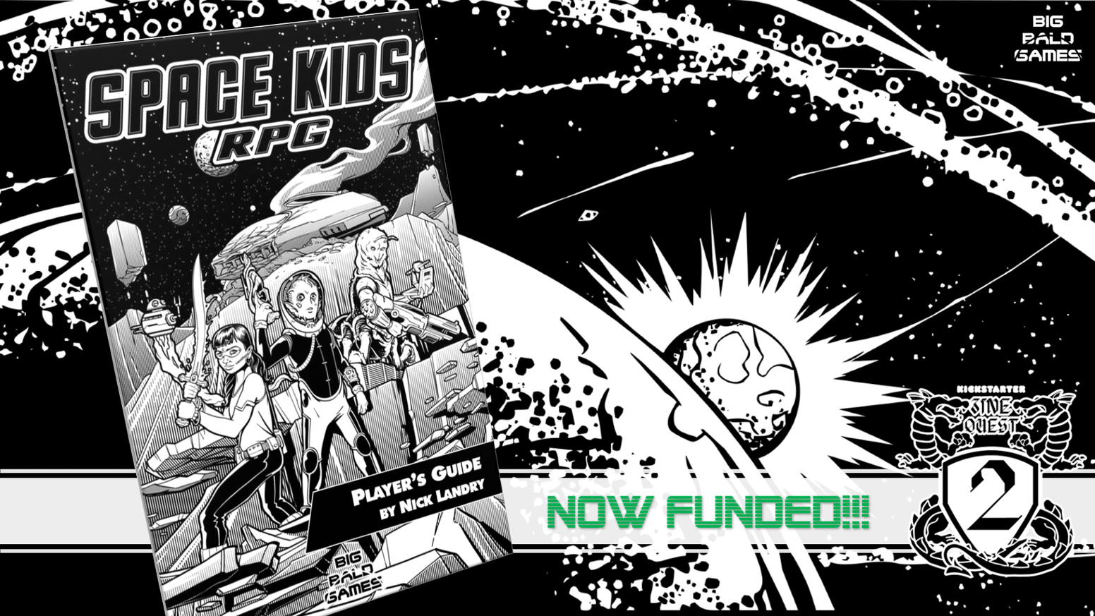 SPACE KIDS RPG is a simple, fun, inclusive, and educational science fiction tabletop roleplaying game for kids aged 4-12 and their parents.