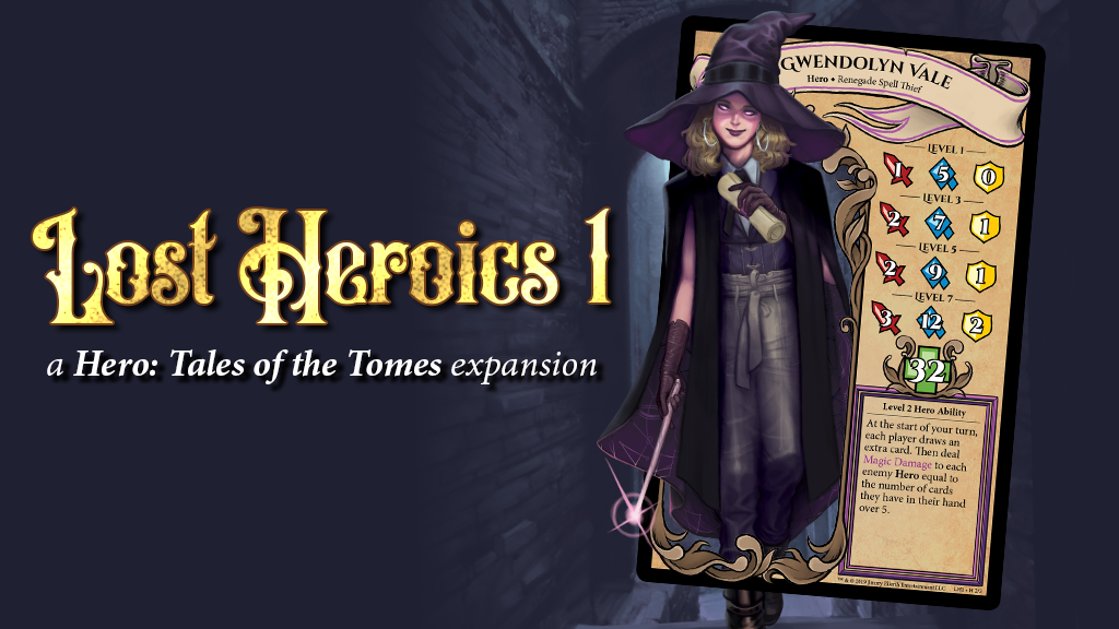 Lost Heroics 1 - Hero: Tales of the Tomes project video thumbnail