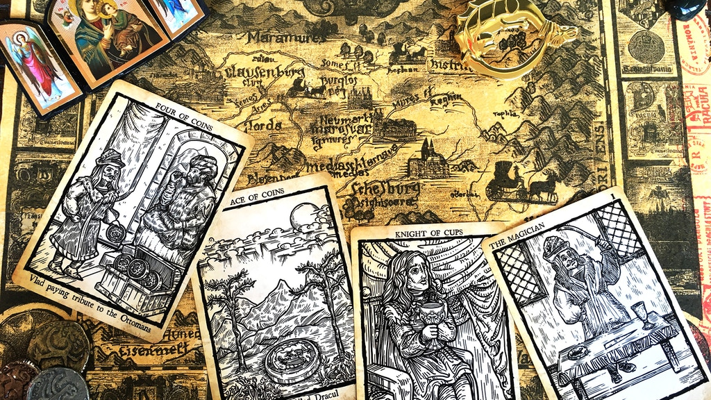 Tarot of Vlad Dracula project video thumbnail