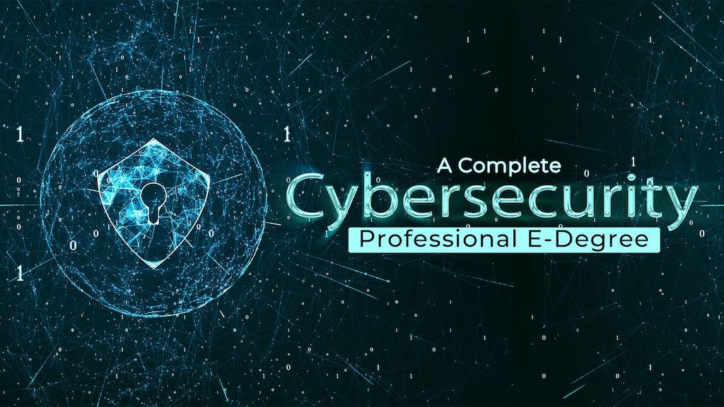 Cybersecurity E-Degree project video thumbnail
