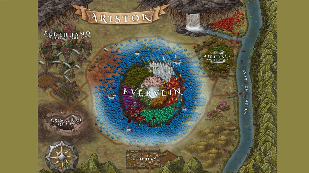 Project image for Enchanted forest of Aristok - custom campaign setting for 5e