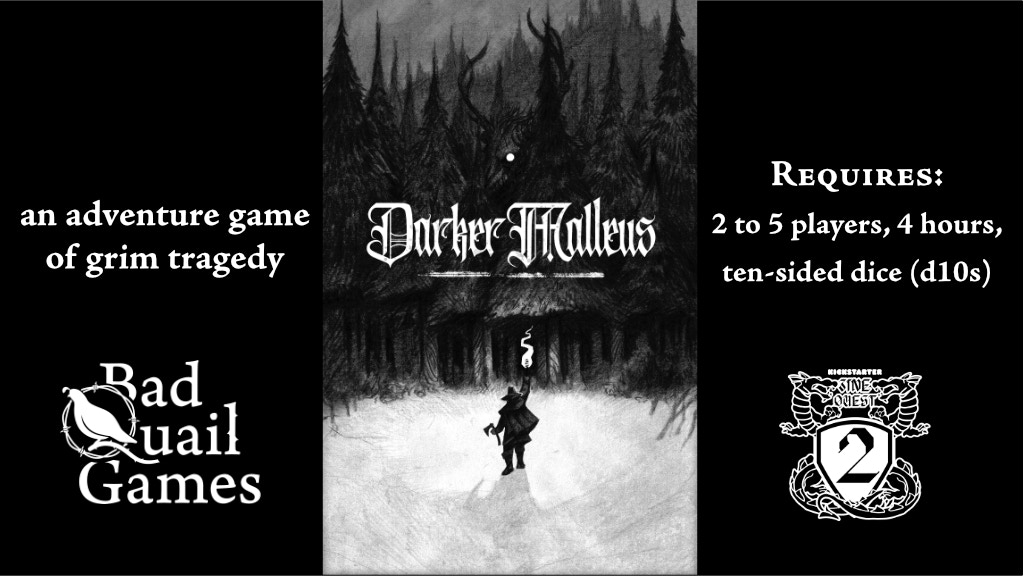Project image for Darker Malleus: a Grim Tragedy for 2 to 5 Players