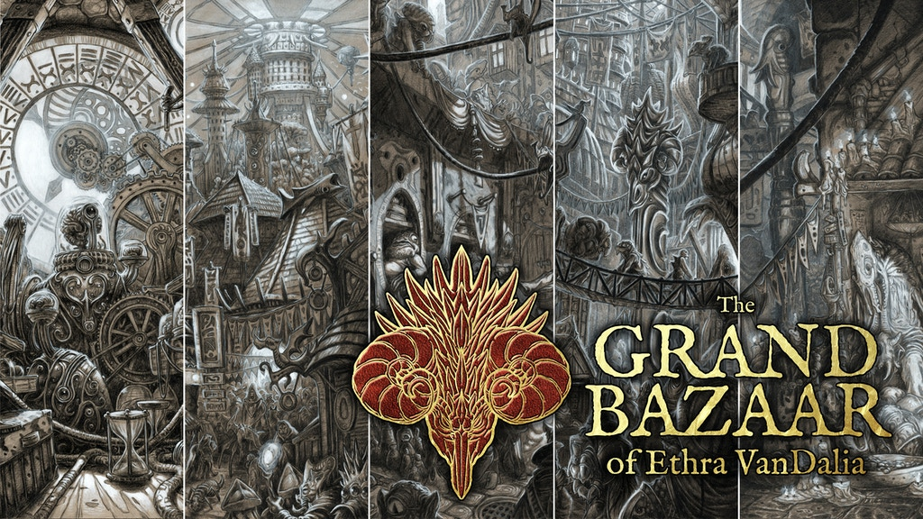 The Grand Bazaar of Ethra VanDalia book set project video thumbnail