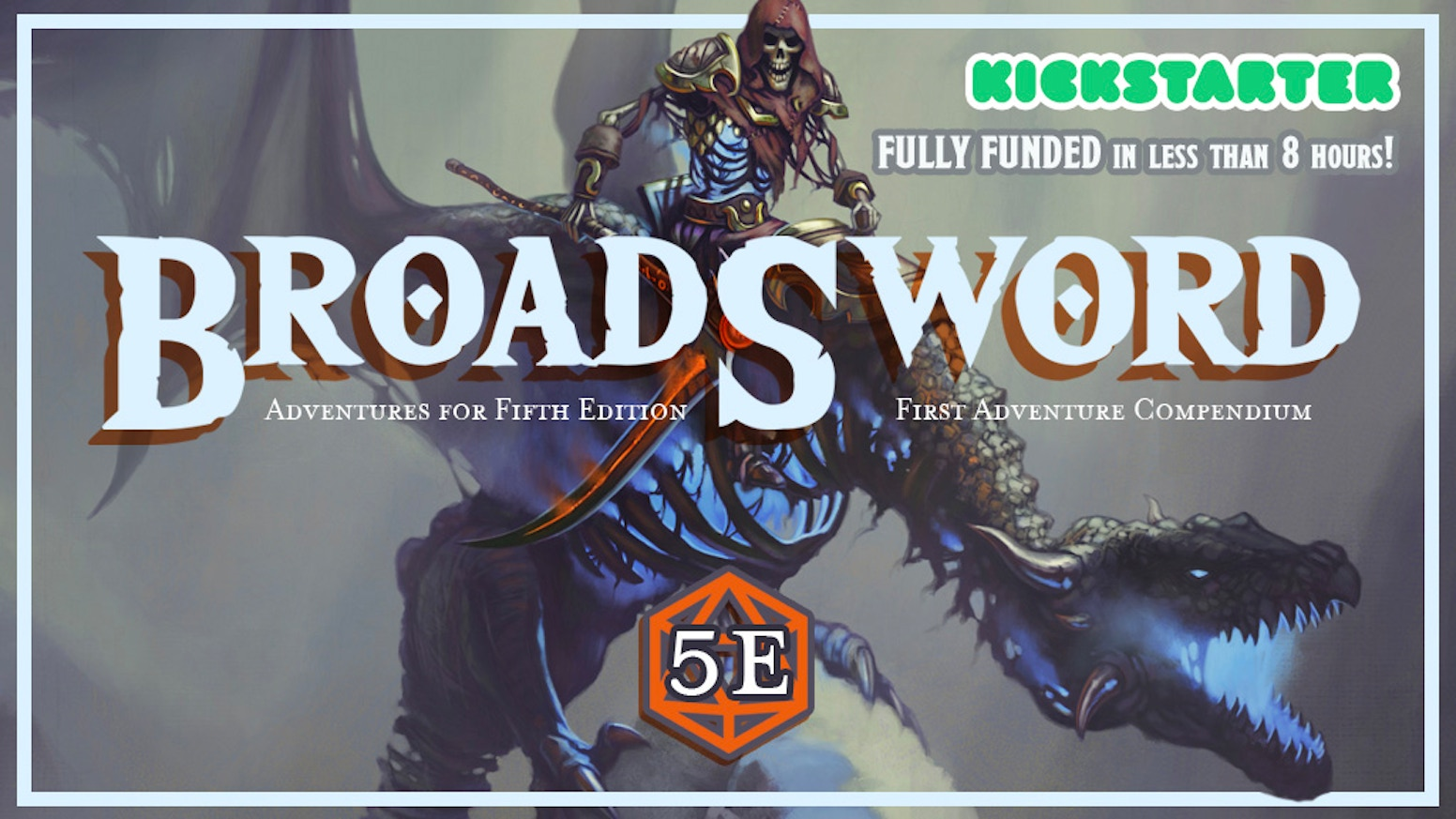 Monthly Fifth Edition adventure books from DMDave. Includes the 300-page BroadSword Compendium #1 with totally remastered adventures.