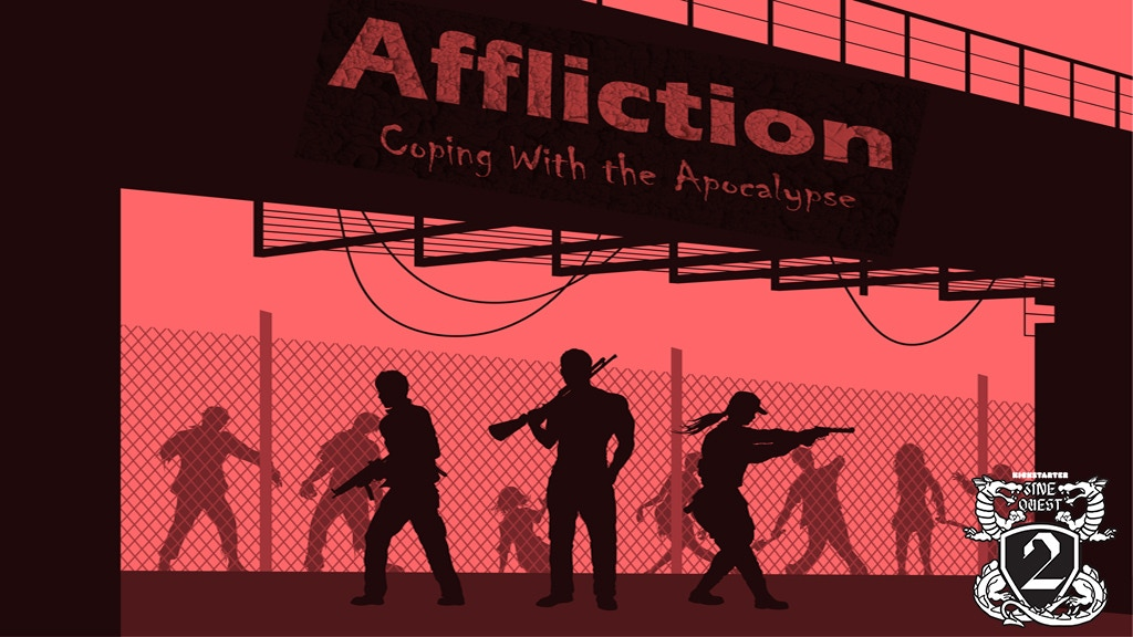 Project image for Affliction: Coping With the Apocalypse RPG Zine