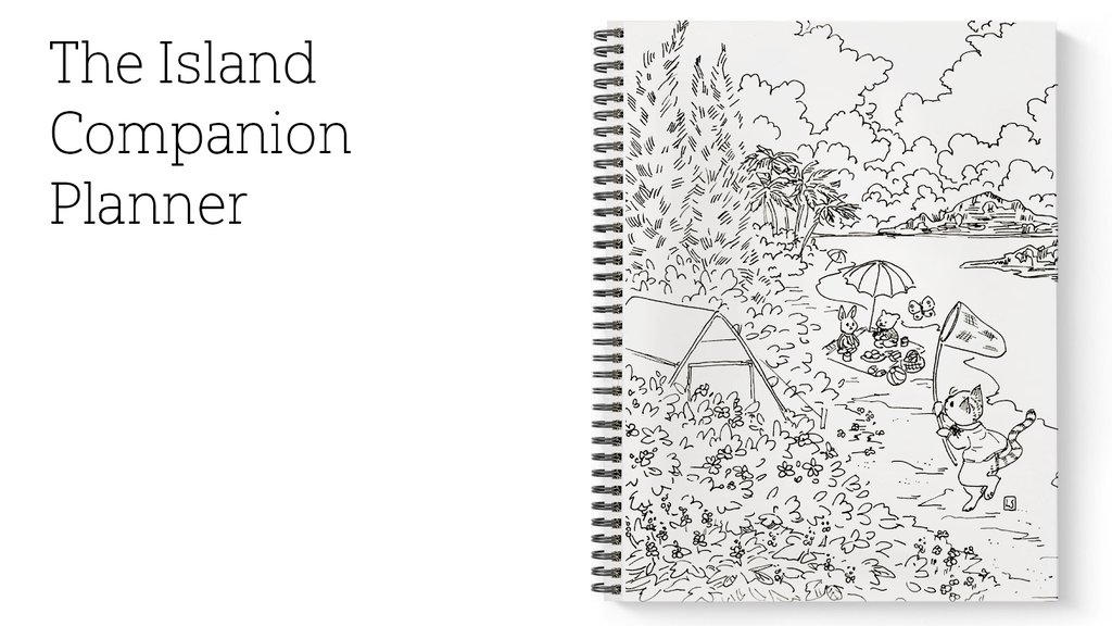 The Island Companion Planner by Nicholas Grimes — Kickstarter