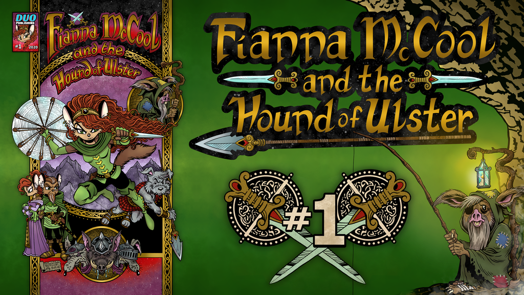 Fianna McCool and the Hound of Ulster project video thumbnail