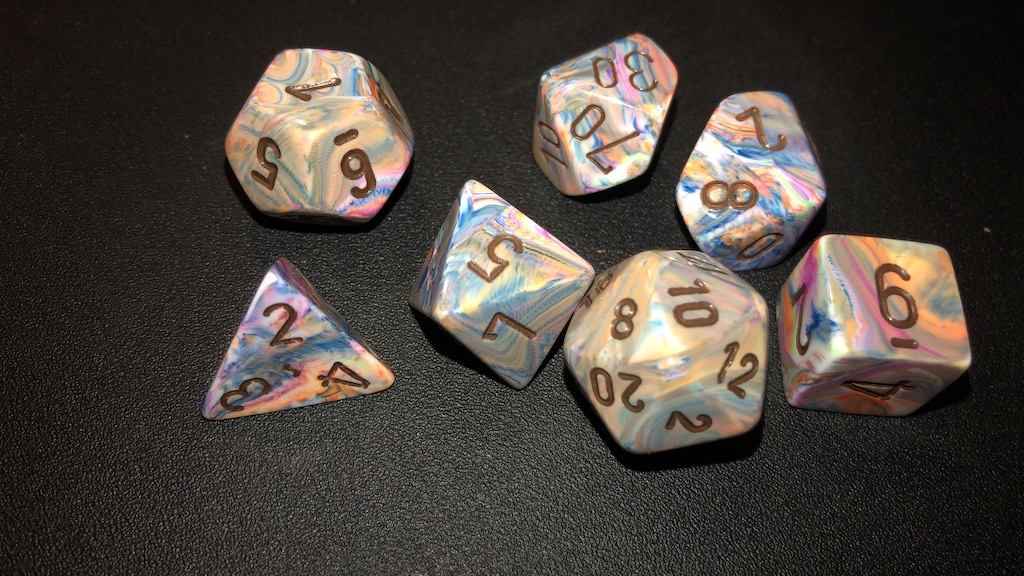 Project image for Hailee's Dice Sets (Suspended)