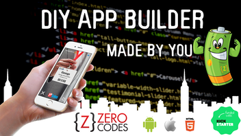 Zero Codes Recharged - DIY app builder, apps made by you!